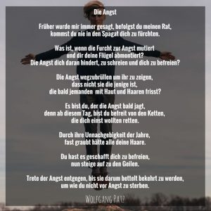 Gedicht die Angst