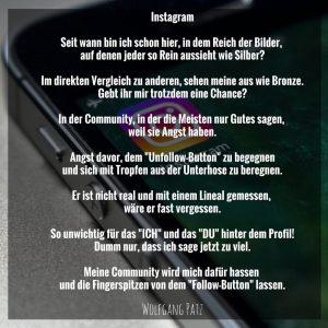 Gedicht Instagram