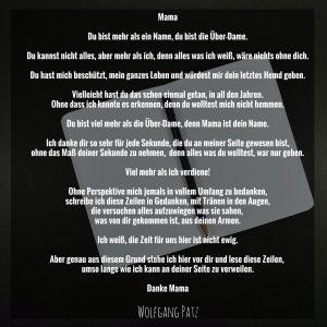 Gedicht Mama