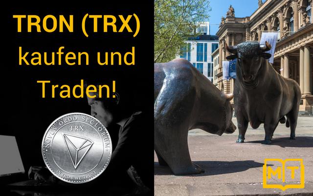 TRON (TRX) KAUFEN und TRADEN | COINBASE & BINANCE