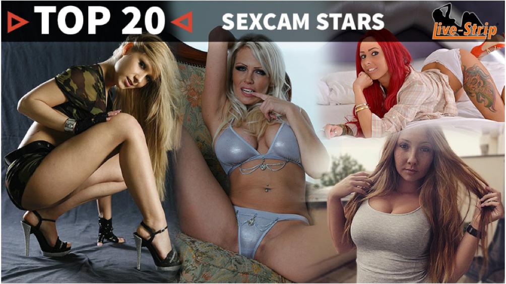 Livestrip präsentiert die Top20 der Sexcam Stars