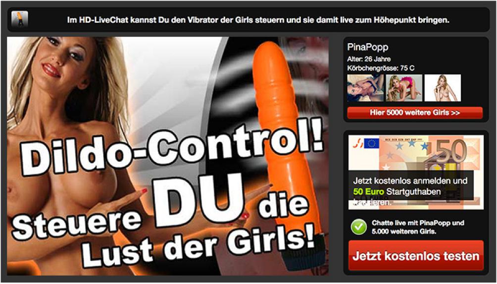Dildo-Control – Steuere du die Lust der Girls