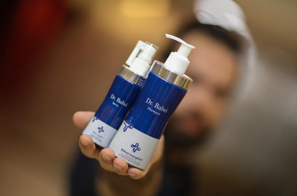 Haarwachstum fördern mit Shampoo und Spray gegen Haarausfall